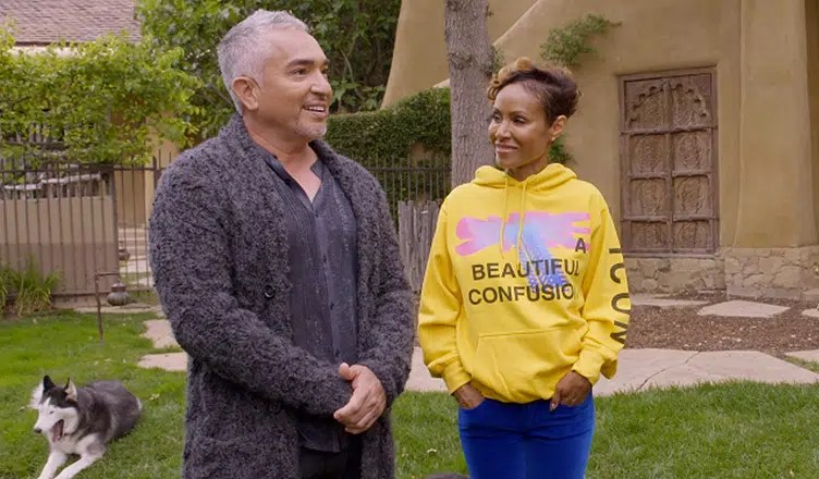 Cesar Millan and Jada Pinkett Smith (Credit: Red Table Talk)