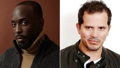 Michael K Williams and John Leguizamo (Netflix and Deposit Photos)
