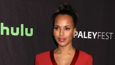 Kerry Washington attends Paleyfest (Credit: Deposit Photos)