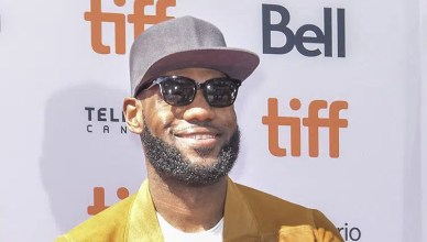 Lebron James arrives at Toronto International Film Festival (Credit: Deposit Photos)