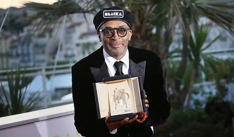 Spike Lee received the Grand Prix award at the Cannes Film Festival (Credit: Deposit Photos)