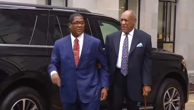 Bill Cosby Arrives in Court on Monday, September 24, 2018. (Credit: YouTube)