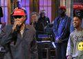 Kanye West MAGA Hat on SNL (Credit: YouTube)