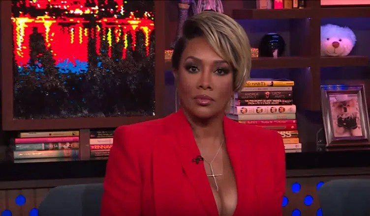 Vivica A. Fox appeared on Watch What Happens Live (Credit: Bravo)