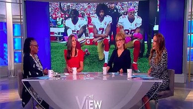 Abby Huntsman discusses Colin Kaepernick at The View on Sept. 4, 2018. (Credit: YouTube)