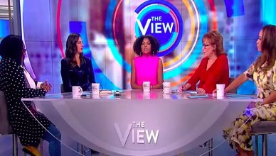 Taraji P. Henson stopped by The View on Sept. 25 to discuss her mental health foundation. (Credit: The View/YouTube)