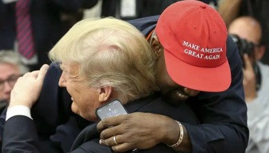 Kanye West met with President Donald Trump in the White House on Thursday, Oct. 11, 2018. (Credit: YouTube)