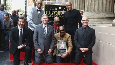 Snoop Dogg Walk of Fame (Credit: YouTube)