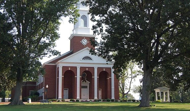 Bennett College Chapel. (Credit: bennett.edu)