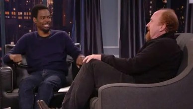 Chris Rock and Louis C.K. (Twitter)