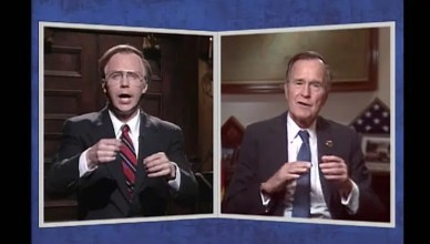 Saturday Night Live George H.W. Bush Tribute (Credit: NBC)