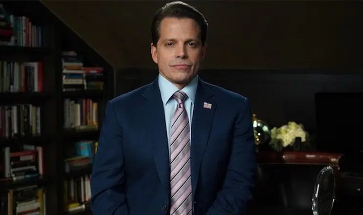 Anthony Scaramucci on Celebrity Big Brother. (Credit: CBS)