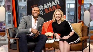 Strahan & Sara (Credit: ABC News)