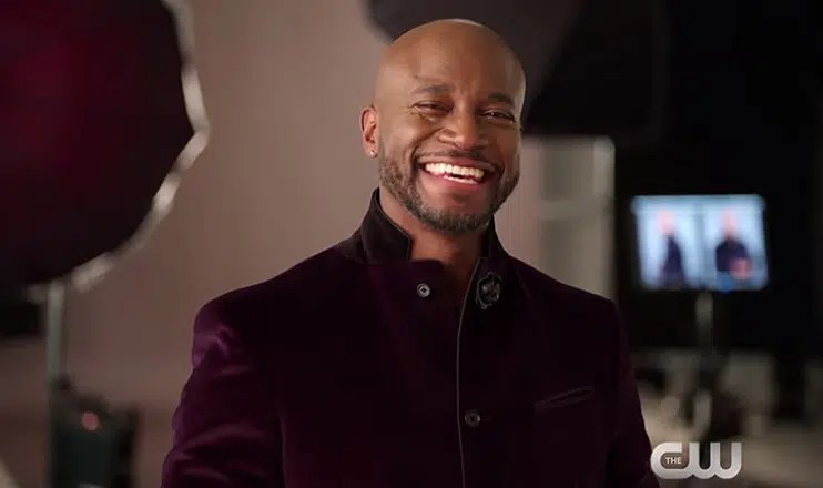 Taye Diggs Critics' Choice Awards Teaser (Credit: The CW)