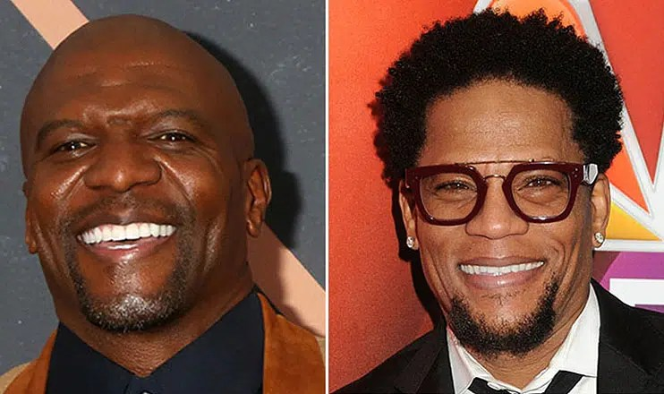 Terry Crews and DL Hughley (Credit Shutterstock)