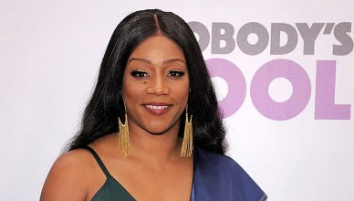 NEW YORK, NY - OCTOBER 28: Tiffany Haddish attends 'Nobody's Fool' New York Premiere at AMC Lincoln Square Theater on October 28, 2018 in New York City. (Credit: Shutterstock)