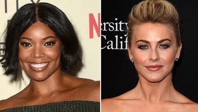 Gabrielle Union and Julianne Hough (Credit: Deposit Photos)