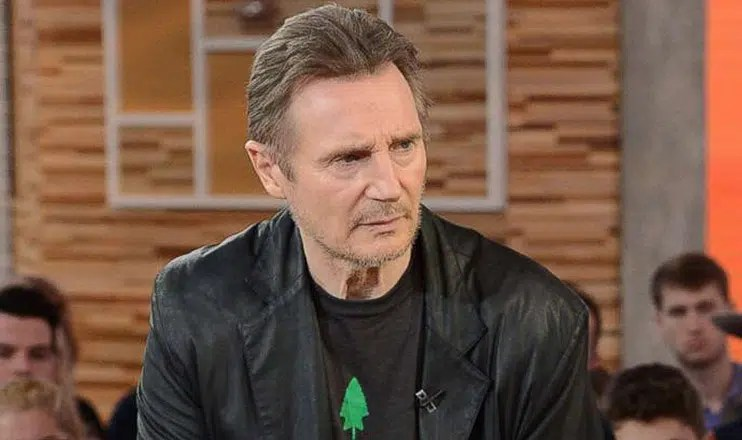 "Liam Neeson appears on ""Good Morning America"" (Credit: ABC)"