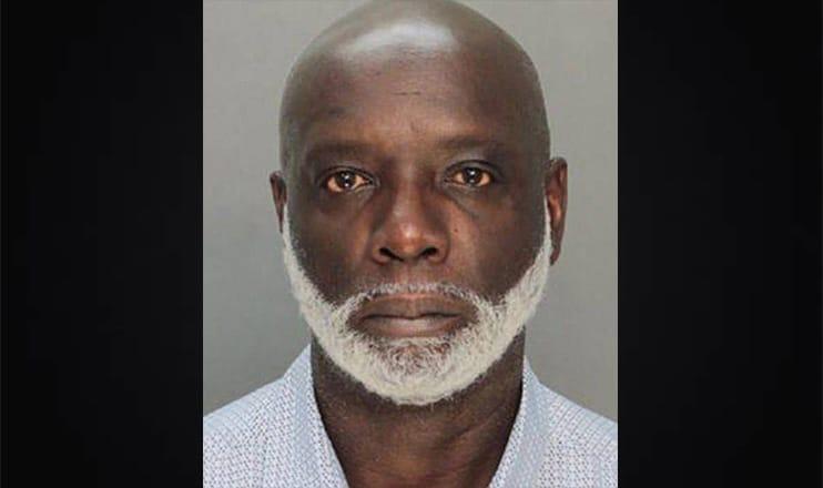 Peter Thomas Booking Photo (Credit: Miami-Dade Corrections & Rehabilitation Department)