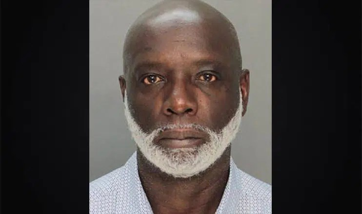 Peter Thomas Booking Photo (Credit: Miami-Dade Corrections & Rehabilitation Department)