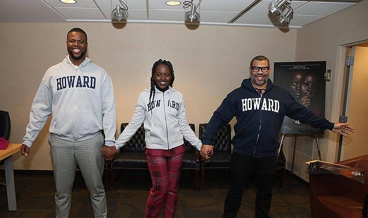 Us Team Visits Howard University. (Credit: Howard.edu)