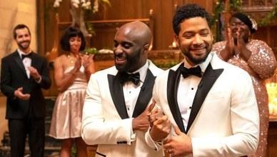 Empire Gay Wedding (Credit: Chuck Hodes/FOX)