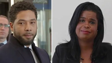 Jussie Smollett and Kim Foxx (Credit: YouTube)