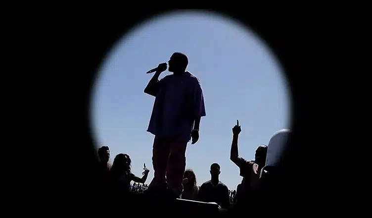 Kanye West Sunday Service (Credit: YouTube)