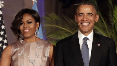 Michelle Obama and Barack Obama (Credit: Shutterstock)