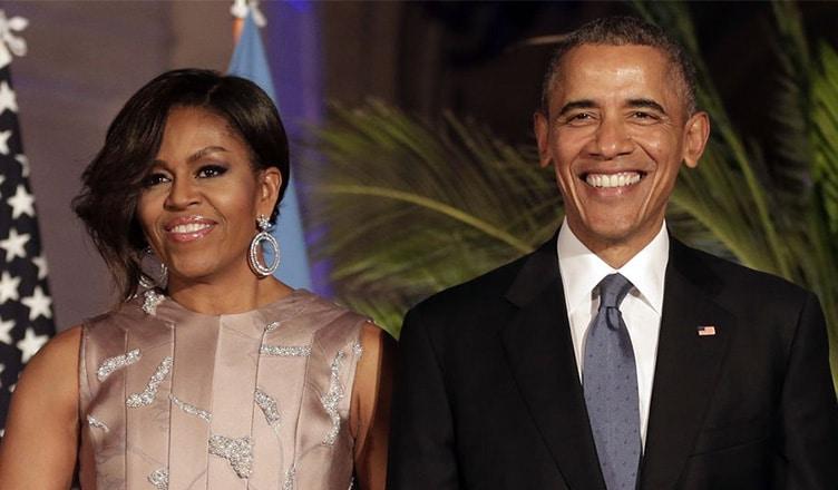 Michelle Obama and Barack Obama (Credit: Shutterstock)