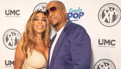 July 18, 2018: Wendy Williams and Kevin Hunter attend Wendy Williams and The Hunter Foundation gala at Hammerstein Ballroom. (Credit: Shutterstock)