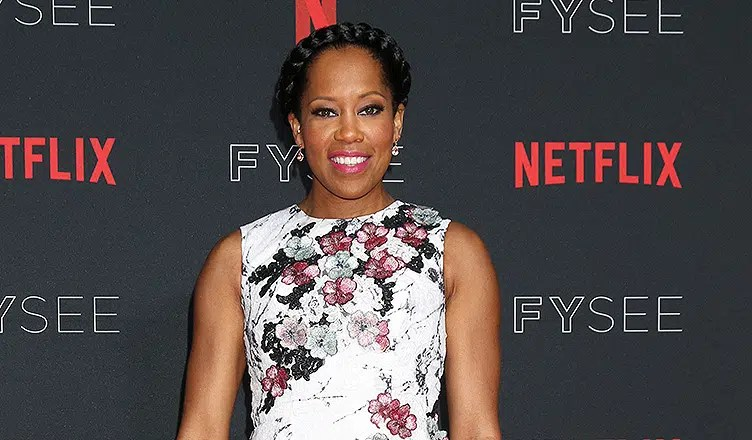 Regina King at the Netflix FYSEE Kick-Off Event at Raleigh Studios on May 6, 2018 in Los Angeles, CA. (Credit: Jean Nelson/Deposit Photos)