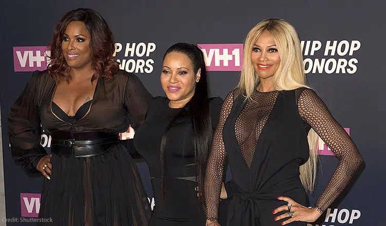 July 11, 2016: Salt-N-Pepa members DJ Spinderella, Cheryl James, Sandra Pepa Denton attend 2016 VH1 Hip Hop Honors: All Hail The Queens at Lincoln Center. (Credit: Shutterstock)