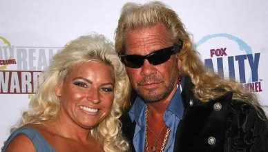 Beth Chapman and Duane Dog Chapman at the Fox Reality Channel Awards. Avalon Hollywood, Hollywood, CA 09-24-08. (Credit: S. Bukley/Deposit Photos)