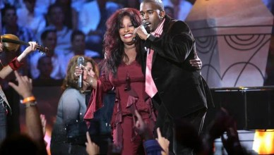 Chaka Khan and Kanye West perform together (Credit: YouTube)