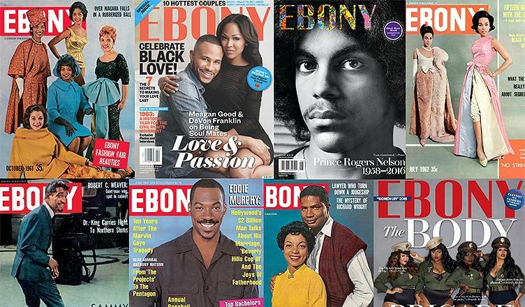 Ebony Magazine Covers (Credit: Ebony.com)