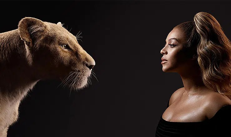 "Beyoncé plays Nala in ""The Lion King."" (Credit: Walt Disney Pictures)"