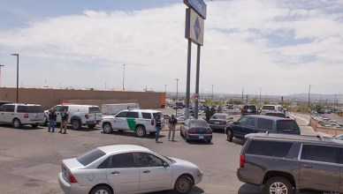 A gunman opened fire at a shopping mall in El Paso, Texas on Saturday, August 3, 2019. (Credit: YouTube)