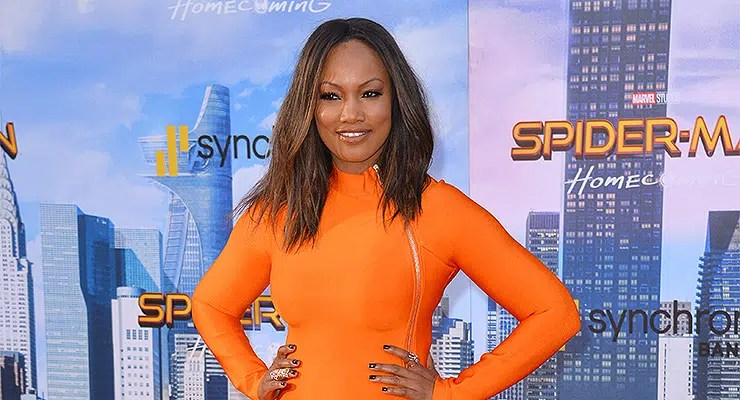 """Garcelle Beauvais — Stock Photo Garcelle Beauvais at the world premiere for """"Spider-Man: Homecoming"""" at the TCL Chinese Theatre, Los Angeles, USA 28 June 2017 — Photo by Featureflash"""