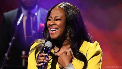 Le'Andria Johnson performs at the 4th Annual Black Music Honors. (Credit: Black Music Honors)