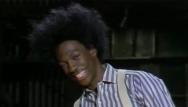 Eddie Murphy as Buckwheat on SNL. (Credit: NBC)