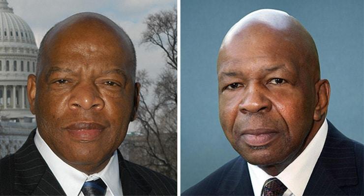 John Lewis and Elijah Cummings (Credit: house.gov)