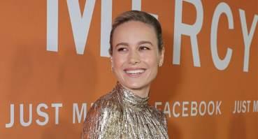 Brie Larson attends special screening of Just Mercy at the Cinemark Baldwin Hills in Los Angeles, on Jan. 6, 2020. (Credit: Warner Bros.)