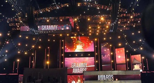 Grammy Awards Stage (Credit: Grammy.com)