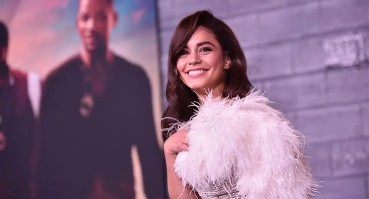 """Vanessa Hudgens attends the Los Angeles Premiere of """"Bad Boys for Life"""" on Jan. 14, 2020. (Credit: Stewart Cook)"""