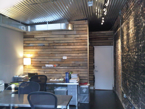 Pallet Ceilingno easy task  urban home INDY