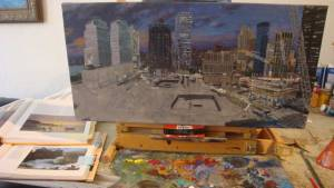 Referencing works by great Claude Monet and George Bellows