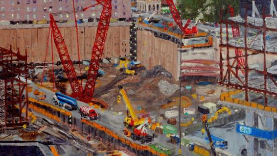 Preparing the Bathtub for WTC Transportation Hub
