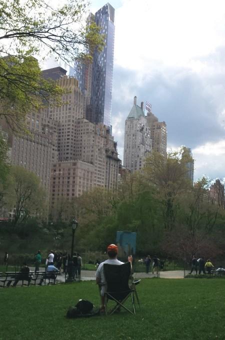 Springtime en Plein Air in Central Park