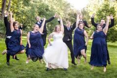 court-wedding-party
